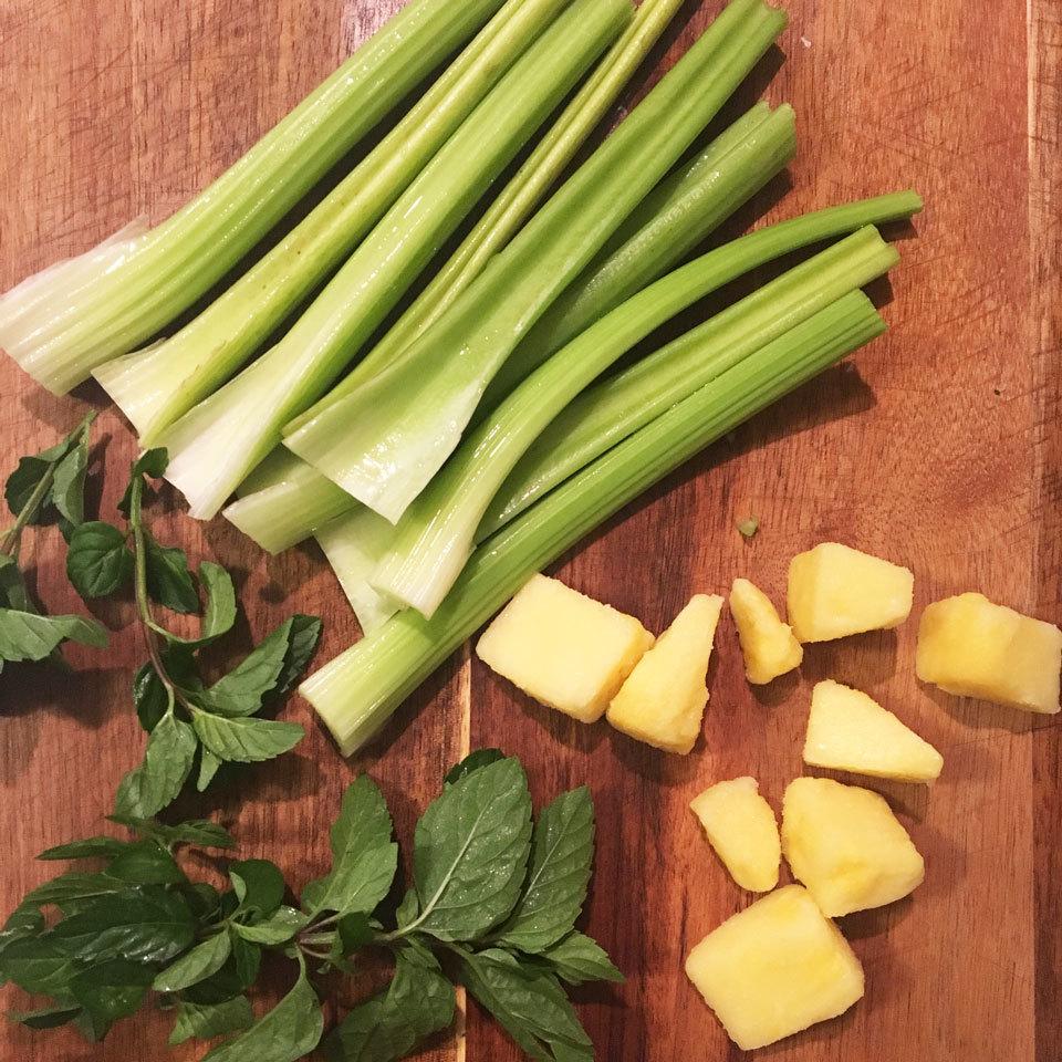 Celery Juice Ingredients