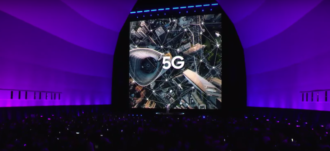 5G being discussed at Samsung Unpacked 2019