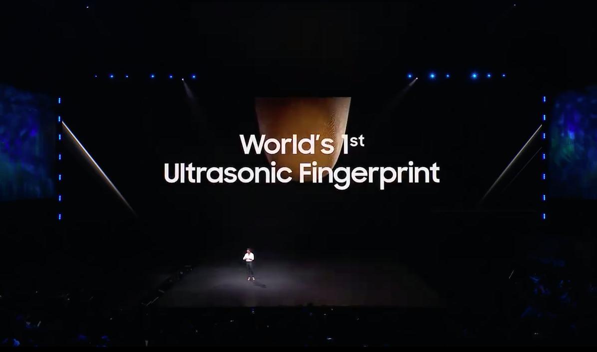 Samsung Ultrasonic Fingerprint